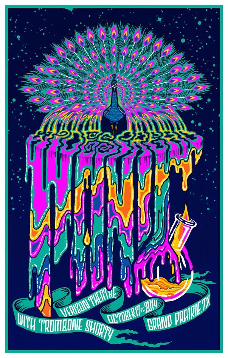 Phish Hd Wallpaper Inside The Rock Poster Frame Blog Brad Klausen Black Keys