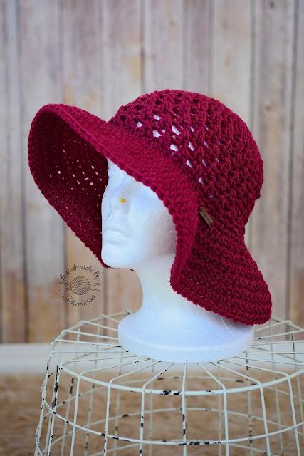 Joli chapeau au crochet - modèle gratuit