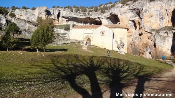Ermita de San Bartolomé, Parque Natural del Cañón del río Lobos, Soria