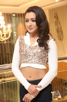 Catherine Tresa in a White Glittering Crop Top Black Leggings  Exclusive 025.JPG