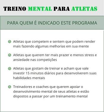 treino mental para atleta e corredor