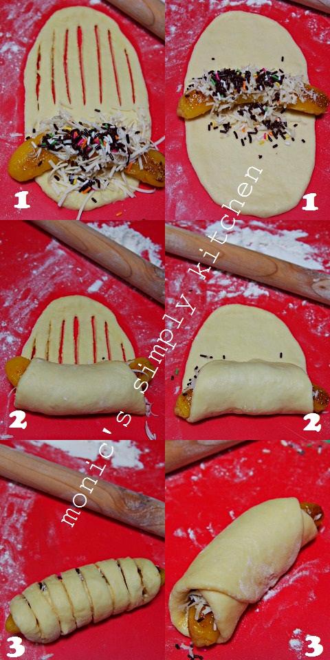 cara membentuk roti