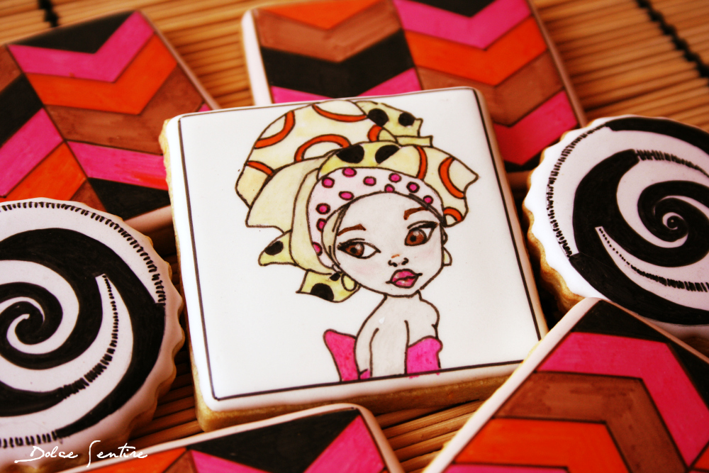 Tutorial Decoración de galletas con rotuladores comestibles