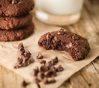 Chocolate Chocolate Chip Cookies 1 Recipe