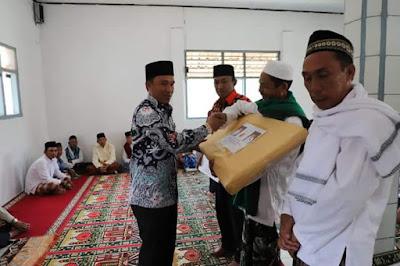 Safari Jum'at di Masjid Al-Ikhlas Pekon Sinar Jaya Kecamatan Air Hitam