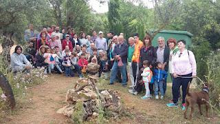 Grupo en el Refugio de la Serpiente