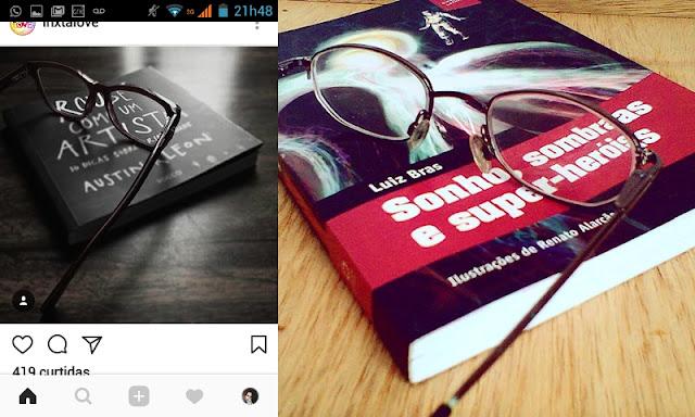 livro e óculos tumblr