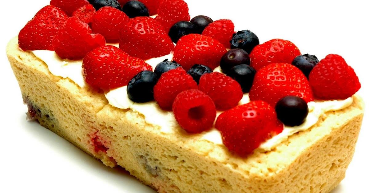 Diabetic Sponge Cake Recipes Uk: The Low Carb Diabetic: Summer Fruits Lowcarb Sponge Cake