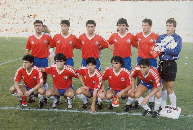 Formación de Chile ante Argentina, Copa América 1989, 2 de julio