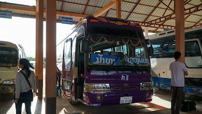 Back in Luang Namtha bus station