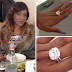 PHOTO: Actress Chika Ike gets massive diamond ring from her boo