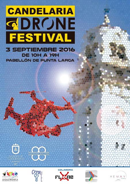 Candelaria Drone Festival, el evento #Drone en #Tenerife con la colaboración de LleidaDrone