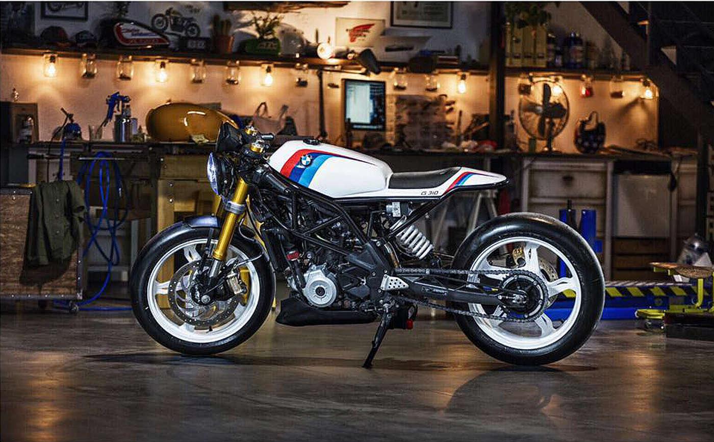 hadoken g310 cafe racer dreams bmw motorrad espa a. Black Bedroom Furniture Sets. Home Design Ideas