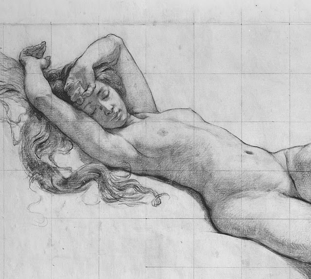 Kenyon Cox: Studio di figura (dettaglio)