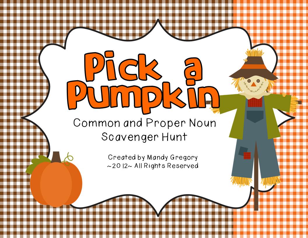 Winners And A Pumpkin Scavenger Hunt Freebie Mandy S