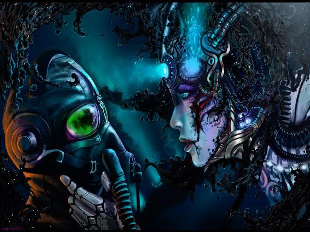 fantasía, avatar, humano, seres, imagen