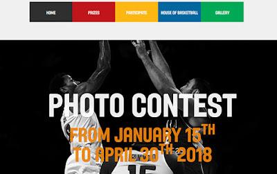 سارع بالاشتراك بمسابقة الاتحاد العالمي لكرة السلة للتصوير واربح آلاف الدولارات!