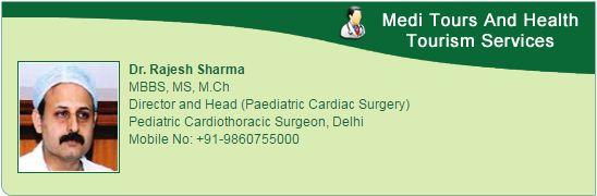Д-р Раджеш Шарма Лучший педиатрической кардиохирург в Fortis больницы в Дели