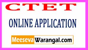 CTET July 2017 Online Application