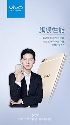 Vivo X7 akan datang dengan didukung Snapdragon 652 SoC