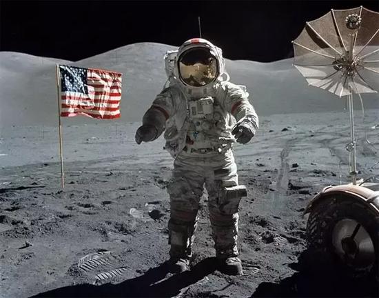 Bandeira na Lua 1
