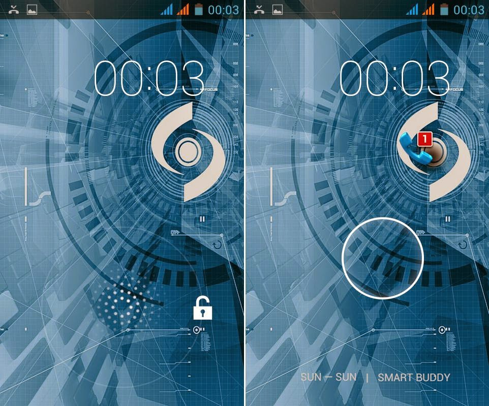 SKK Mobile Griffin Review: Lion and Eagle Lockscreen