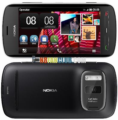 Nokia 808 PureView - Camera Smartphone with Xenon Flash