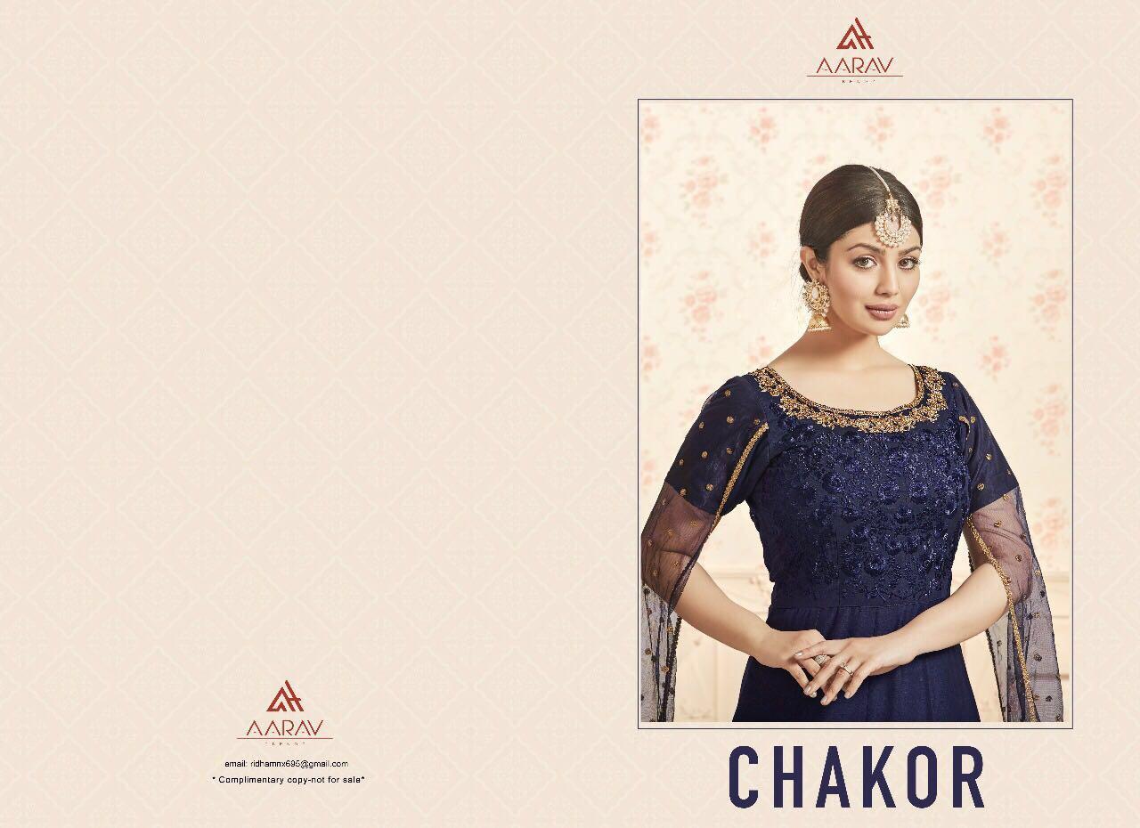 """AARAV trendz Presents """"CHAKOR"""" New Collection Of Salwar Suit"""