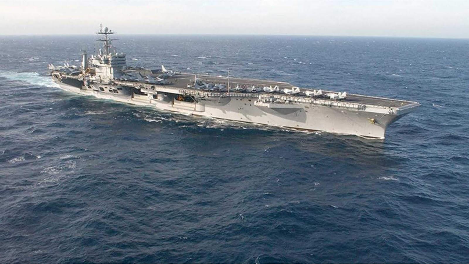 Kapal induk Angkatan Laut AS memasuki Arktik untuk pertama kalinya dalam 30 tahun terakhir