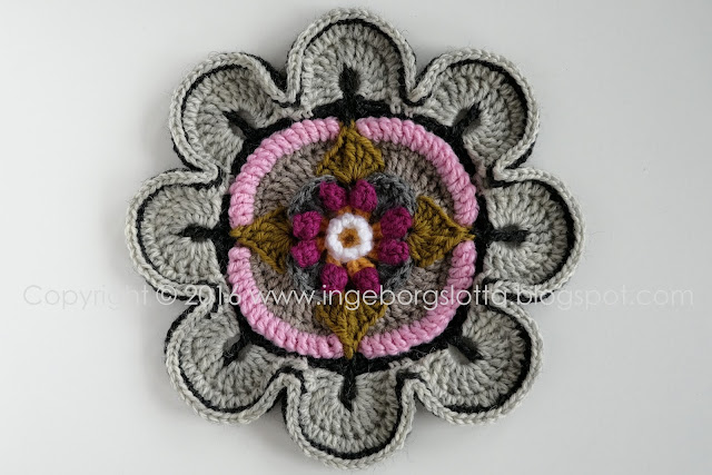 Mandala madness CAL 2016 part 1 crochet