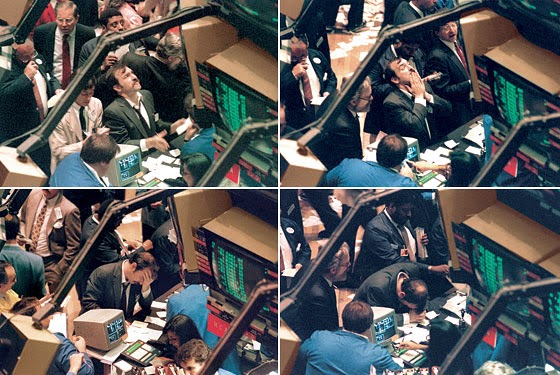 Suasana Pasar Saham New York pada Black Monday 1987
