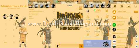 Download Tema Line Anime HAIKYUU – KARASUNO