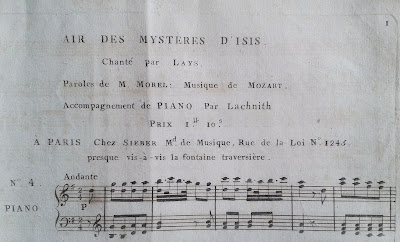 Кобра: (29.01.2017) Мистерии Исиды Mozart