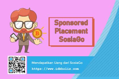 Task Approved: Dapatkan Uang Tambahan dari Aktifitas Sponsored Placement SosiaGo Indonesia