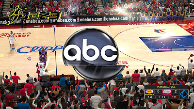 NBA 2K13 ABC Sports Overlay & Watermark Patch