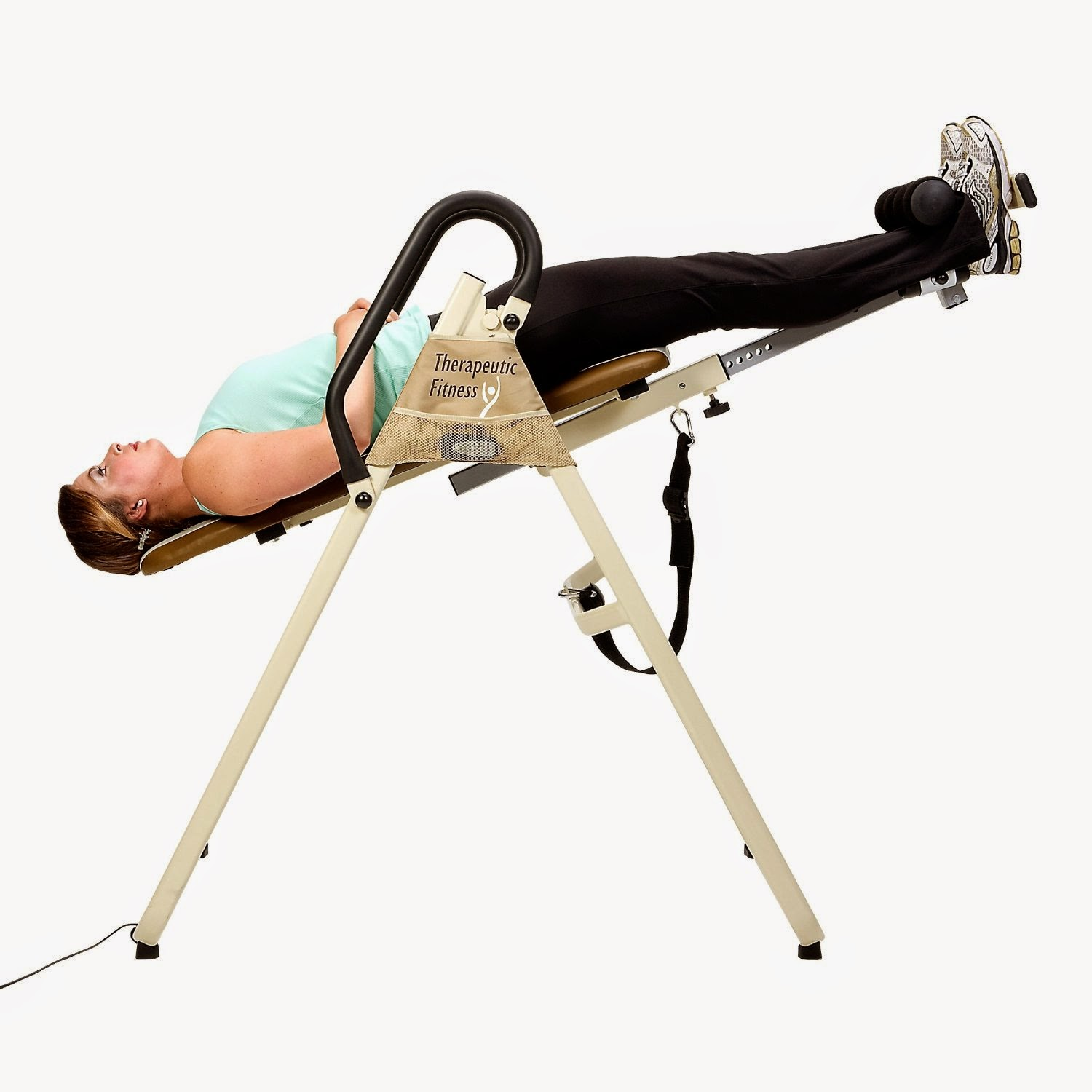 Starting off at a reduced angle on an inversion table