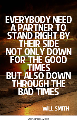quotes image everybody need a partner to stand right by their side