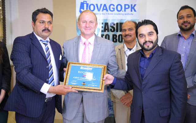 Jovago.pk organizes hotel awards to encourage the travel industry of Pakistan
