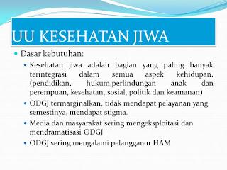UNDANG-UNDANG REPUBLIK INDONESIA  NOMOR 18 TAHUN 2014 TENTANG KESEHATAN JIWA