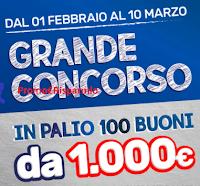 Logo Mondo Convenienza : ''Chi trova un catalogo trova un tesoro'' e vinci gratis 100 buoni da 1.000€