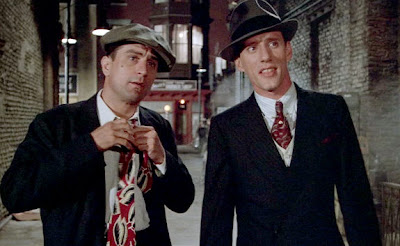 Robert De niro as Noodles, James Wood as Maximilian 'Max' Bercovicz in Once Upon a Time in America, Directed by Sergio Leone