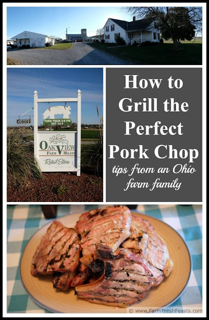The secret recipe to a perfectly grilled pork chop, from an Ohio hog farming family.