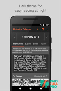 Today in History On this Day Premium APK