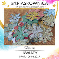 """Gościnnie Bożena / moments magiques - THEME """"fleurs"""""""