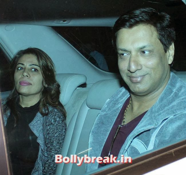 Madhur Bhandarkar, Deepika, Ranverr, Jackie, Malaika & Other Celebs at Gunday Special Screening