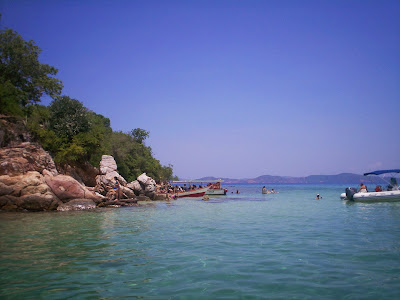 imagen la Piscina Isla de Arapo tour a mochima