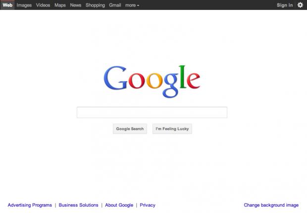 بشكلها الجديد Google واجهة محرك بحث