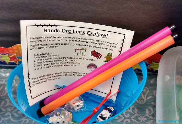 Photo of Let's EXPLORE! CONSERVATION OF ENERGY:Hands On Minds On Science Centers @teachingisagift.blogspot.ca