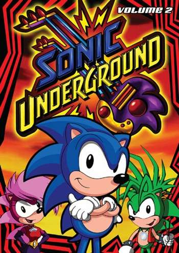 Sonic Undergraund Serie Completa Latino