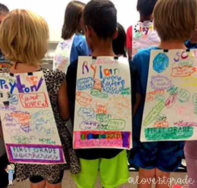 end of year superheroes; first grade superheroes